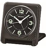 Seiko Travel Alarm Clock, Plastic, Black - Best Reviews Guide