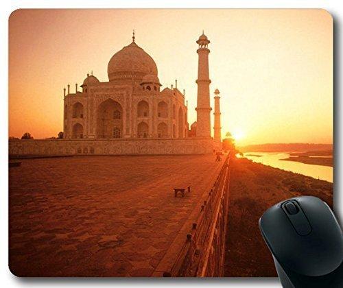 the-taj-mahal-at-sunset-india-mousepadcustom-rectangular-mouse-pad