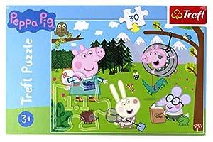 TREFL 18245 Puzzle Puzzle - Rompecabezas (Puzzle Rompecabezas, Dibujos, Niños, Cerdo, Niño/niña, 3 año(s))