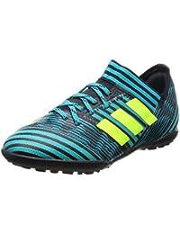adidas Performance X TANGO 18.4 IN - Indoor football boots - fooblu/syello/cblack