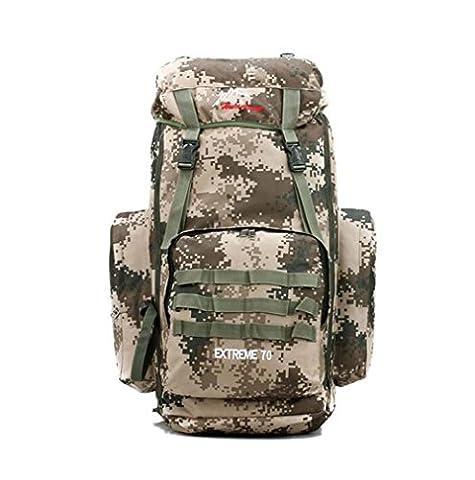 Wmshpeds Outdoor Camping trekking Regen anti-träne camouflage Rucksack große professionelle Bergsteigen Tasche