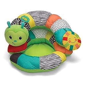 Prop-A-Pillar Spielkissen – Kissenstütze für Neugeborene und Kleinkinder – Mit abnehmbarem Stützkissen und Spielzeug…