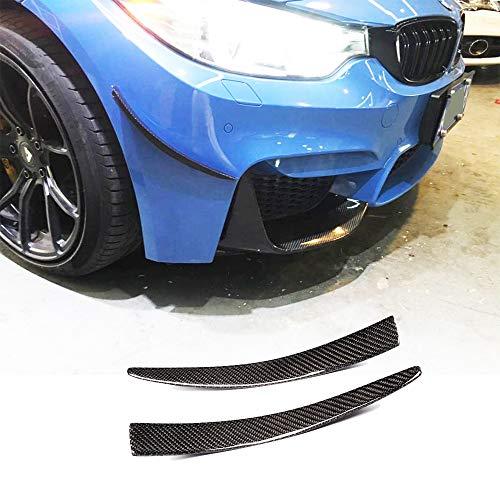 Yiwang Bandes d/écoratives en fibre de carbone ABS pour si/ège arri/ère de voiture Levante 2016 2017 2018