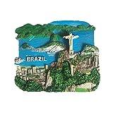 Bella Magneti per FrigoriferoCalamite da Frigo Viaggio Souvenir del Modo Brasile Corcovado Ibilapuela Park Fridge Magnet Sticker