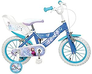 16 Zoll Kinderfahrrad Mädchenfahrrad Kinder Fahrrad Rad Disney Frozen die Eiskönigin