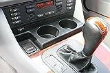 KOBWA E39 Kfz Front Konsole Getränkehalter Dosen Halterung Becherhalter Cupholder für BMW 1997-2003 BMW 5 Series (528i, 540i, 525i, 530i, M5)