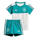 adidas Kinder Dfb 3 Stripes Summerset Trikot & Short, Eqt Green s16/White, 92