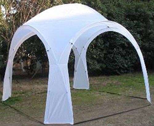 Eventzelt HURRICANE TLC126 Pavillon Partyzelt Sonnenschutz weiß 320x320x250cm (Party Lounge-möbel)