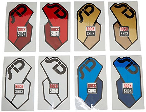 Rock Shox SID 2011Zubehör QR Aufkleber Kit, unisex, SID 2011 Accessory, Gold/Red/Blue/Whi Preisvergleich