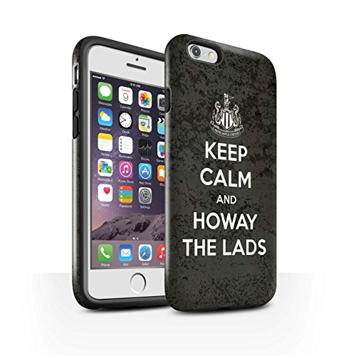 Offiziell Newcastle United FC Hülle / Glanz Harten Stoßfest Case für Apple iPhone 6 / Pack 7pcs Muster / NUFC Keep Calm Kollektion Howay Jungs