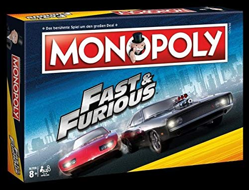 Winning Moves WIN44864 Monopoly: Fast & Furious, - Und Mogeln Monopoly Mauscheln