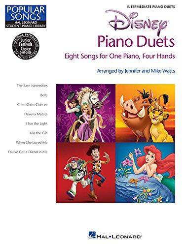 Disney Piano Duets: Songbook für Klavier 4-händig (Hal Leonard Student Piano Library) (Disney Piano Songbook)