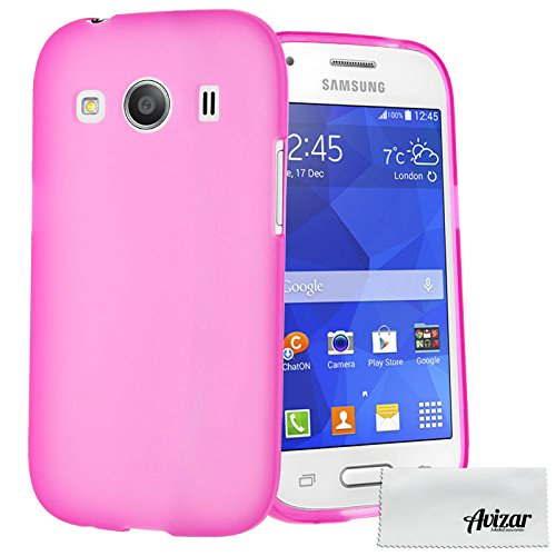 Coque Silicone Gel pour Samsung Galaxy Ace 4 - Rose