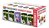 TASSIMO JACOBS Vielfaltspaket Variety Box Packungen 56 ☕ Cups Kaffee T Discs Pods Coffee Latte Cappuccino Caffè Crema Intenso Caffe Crema Classico Milka Hot Chocolate Getränke