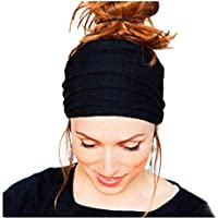 Koly Womens Sports Running Headbands Hair Accessories Headwrap for Crossfit Yoga Pilates Gym Nonslip Headband