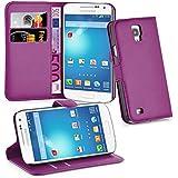 Cadorabo - Etui Housse pour > Samsung Galaxy S4 ACTIVE < (I9295) – Coque Case Cover Bumper Portefeuille (avec stand horizontale et fentes pour cartes) en ORCHIDÉE VIOLETS