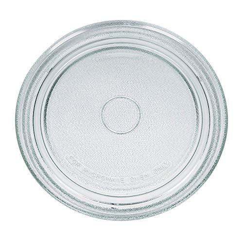 VIOKS Mikrowellenteller 273 mm Teller Drehteller Glasteller für Mikrowelle Herd Durchmesser: 27,3 cm 3 Noppen