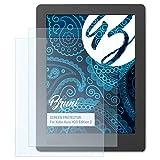 Bruni Schutzfolie für Kobo Aura H2O Edition 2 Folie - 2 x glasklare Displayschutzfolie