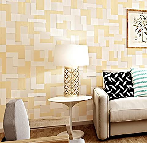 Modern Einfache 3D Stereo Mosaik Wallpaper Schlafzimmer Wohnzimmer TV Wallpaper 0.53M * 10M,17101