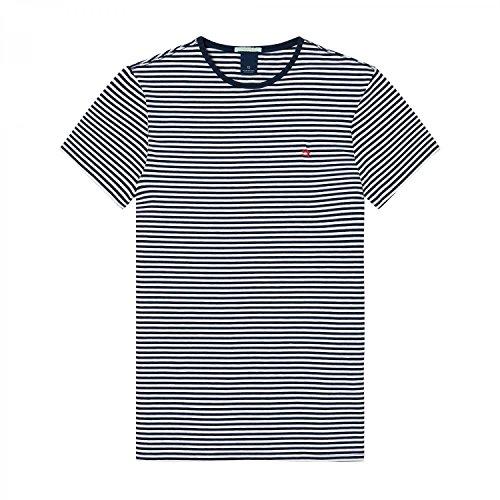 Scotch & Soda Herren T-Shirt Classic Crewneck Jersey Tee Combo H