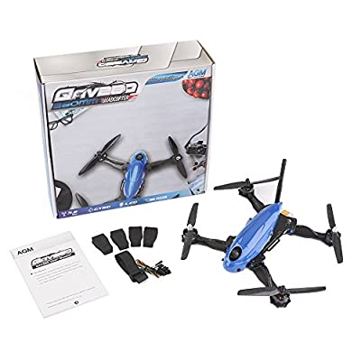 AGM QAV280 Quadcopter Carbon Combo 280mm Carbon Glass Fiber Quadcopter Race Copter Racing Drone Frame Kit with MT2204 Motors + ESC Simon K-20A + Propellers & CC3D Flight Controller¡­