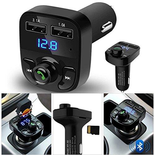 Gaddrt Car Kit Freisprecheinrichtung Wireless Bluetooth FM Transmitter LCD MP3-Player USB-Ladegerät Mp3-bluetooth-home Kit