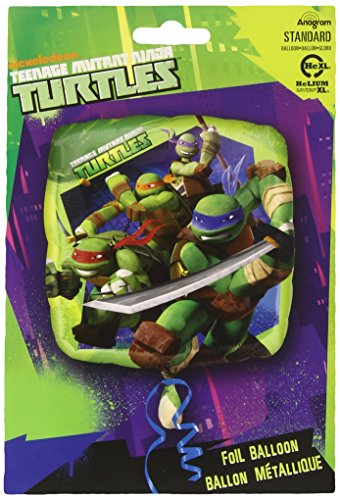 amscan Teenage Mutant Ninja Turtles Folienballon Standard