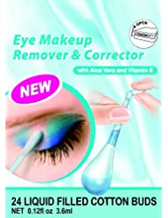 Amirose Eye Makeup Remover and Corrector (24 Liquid filled buds)
