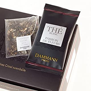 DAMMANN FRERES - Passion de Fleurs Tea - 24 wrapped envelopped tea bags
