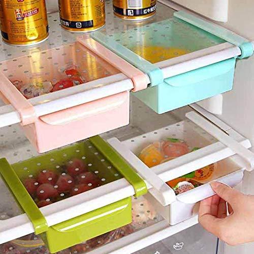 YENJOS Kühlschrank Schublade Regal Kühlschrank Rack Organizer Food Saver Container Küche Lagerung & Organisation Zubehör