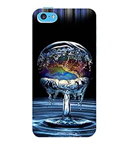 ColourCraft Creative Image Design Back Case Cover for APPLE IPHONE 5C