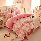 Nouveau venu de la literie literie Princess 100% coton Ensemble de literie jupe de lit style/Home/textile/set de lit le linge de lit/ens. Housse de couette
