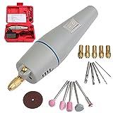 Ils - AC 220 V Mini Bohrmaschine Elektro Grinder Set mit Netzteil und Zubehör