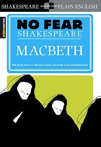 Macbeth (No Fear Shakespeare) (Sparknotes No Fear Shakespeare) by William Shakespeare (2003-04-15)