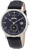 Reloj Zeppelin Watches 7543-3 de cuarzo para mujer con correa de piel, color marrón de Zeppelin