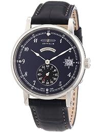 Zeppelin Damen-Armbanduhr Nordstern Analog Quarz Leder 75433