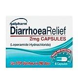Galpharm 2 mg Loperamide diarrhea relief 6 Capsules (Pack of 6 Total 36 capsules)