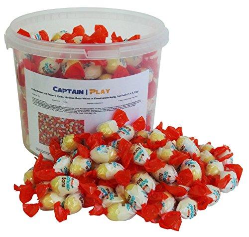 Party Bucket avec Ferrero Kinder Schoko Bons White dans emballage individuel 1,2kg