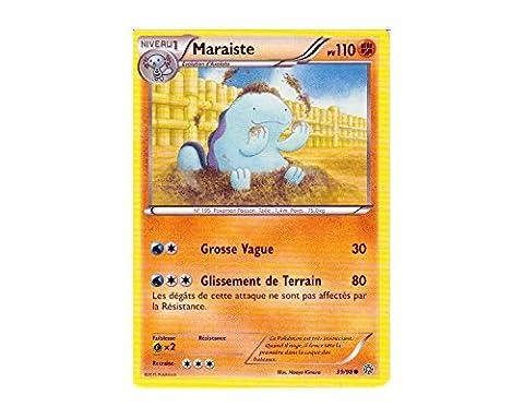 Carte Pokémon 39/98 MARAISTE - Série XY Origines Antiques XY7 - NEUVE FRANCAISE