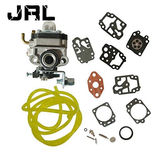 JRL Vergaser mit Reparatur Rebuild Membran Dichtung Kit für Trimmer Kettensägen Gebläse
