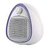 WENYAO Haushalt Mini Heizung, Keramik Heizung, Heizung Und Kühlung Dual-Use Elektroheizung Für Heim/Büro Mute (800-1600 Watt),Purple