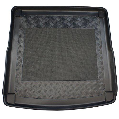 ZentimeX Z747007 Vasca baule su misura con superficie scanalata e integrato tappeto antiscivolo