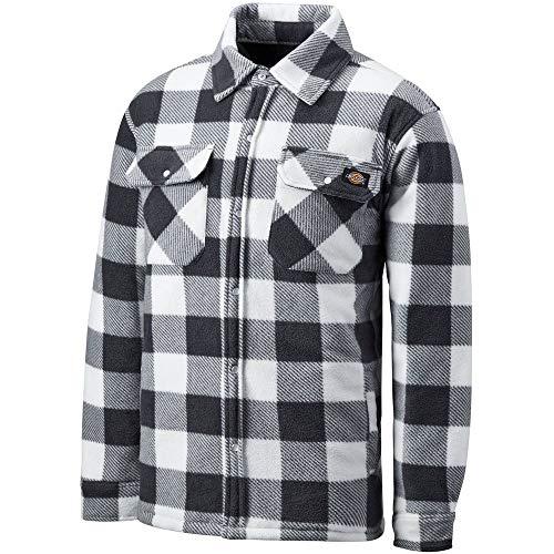 Dickies Hemd/T-Shirt Thermohemd Portland White/Grey-XXL -