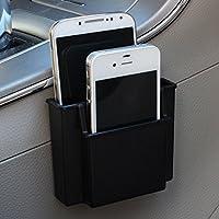 Bureze Universal Car Air Vent Mount Dashboard Phone Holder Sundry Storage Box Organizer