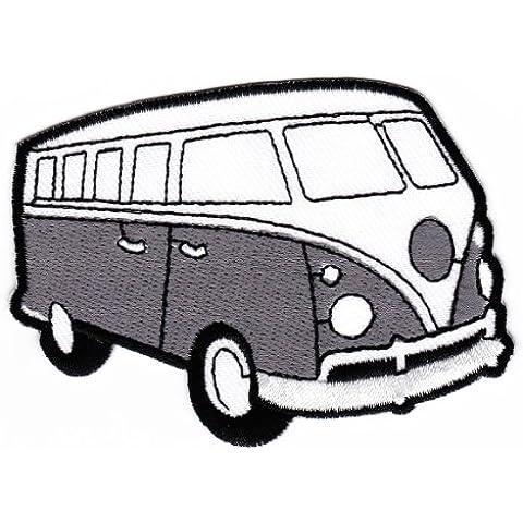 Parche plancha de planchar Iron on patches applikation VW Bus Furgoneta grande