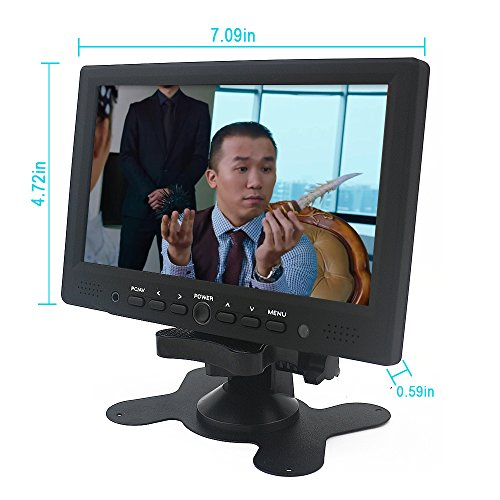 Sourcingbay 7 Digital TFT LED Color Receiver automobile PC Monitor HDMI VGA AV enter Monitors