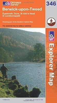 Berwick-upon-Tweed (OS Explorer Map Series)