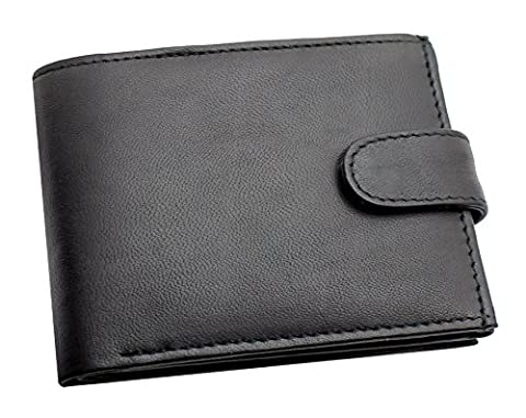 RAS® Men's Soft Smooth Genuine Leather Wallet With A Zipped