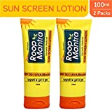Roop Mantra Sun Screen Lotion, 100ml (Pack of 2)