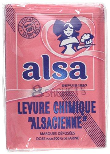Alsa Levure Chimique Alsacienne 48 Sachets